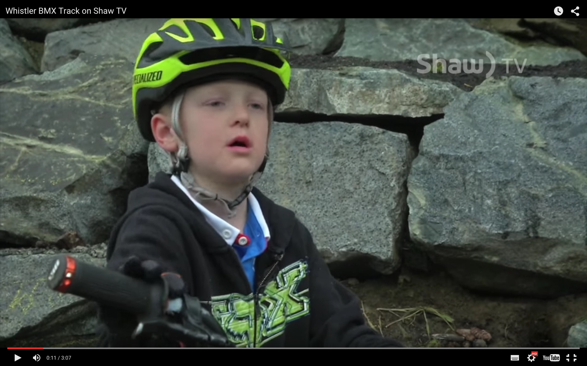 Whistler BMX on Shaw TV Channel 4
