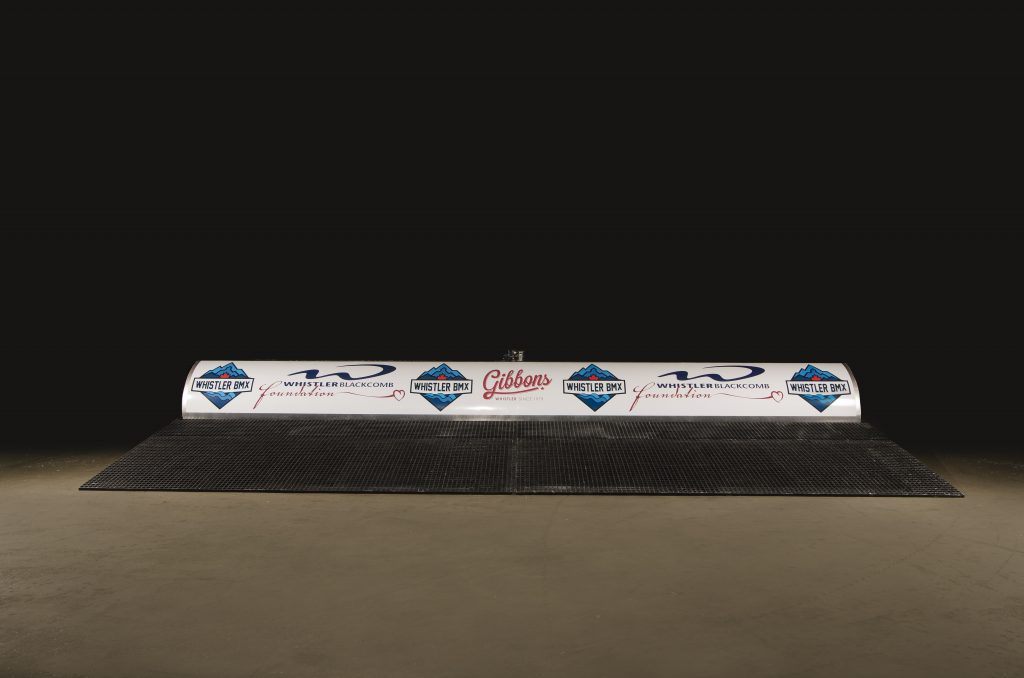 The Whistler BMX Club start gate ready to be shipped to site.