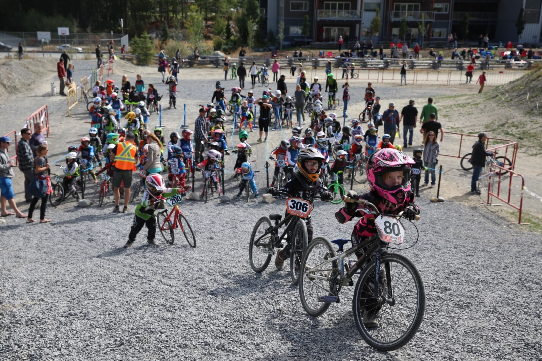 Whistler BMX Race Crowds