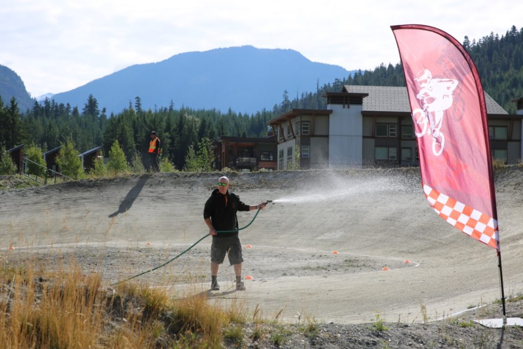 Whistler BMX Track Volunteer